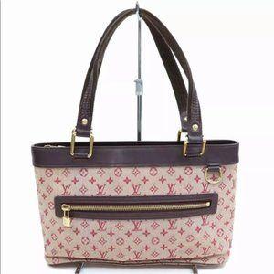 authentic Louis Vuitton Lucille pm Bordeaux bag